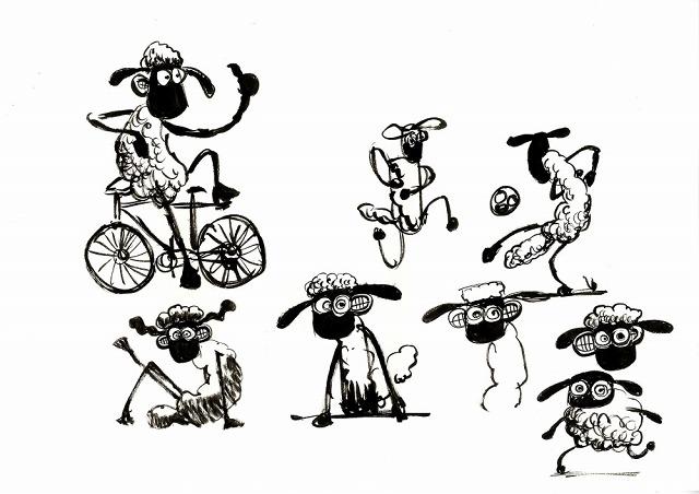 アードマンアニメーションズ設立40周年記念ひつじのショーン展